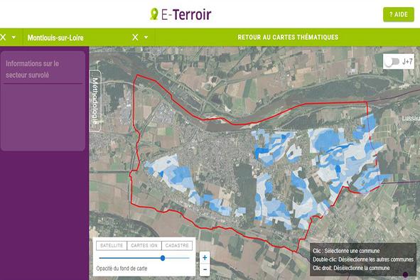 Val de Loire : données hydriques des terroirs